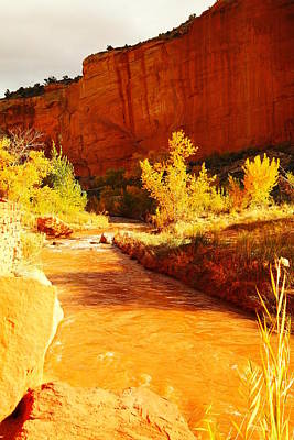 Capital Reef Photograph - Flowing From Capital Reef by Jeff Swan