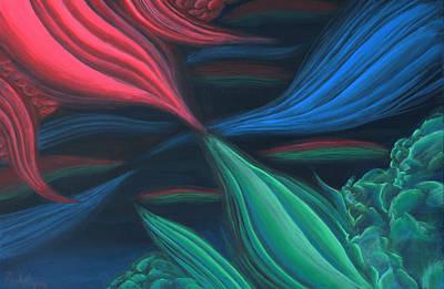Flowing Harmony Art Print