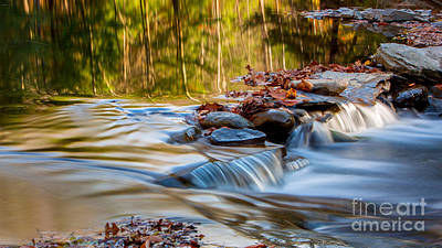 Photograph - Flowing Reflections by Brad Marzolf Photography