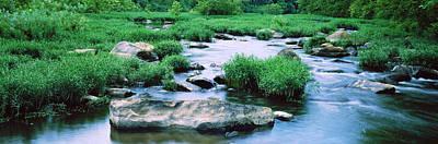 Flowing River, St. Francis River Art Print