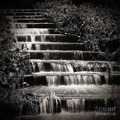 Flowing Stairs Art Print by Charmian Vistaunet