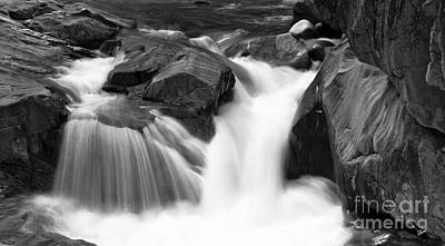 Photograph - Flowing Stream by Alana Ranney