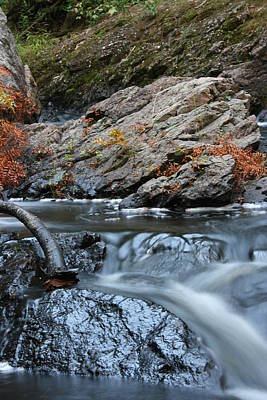 Photograph - Flowing Water by Paula Brown
