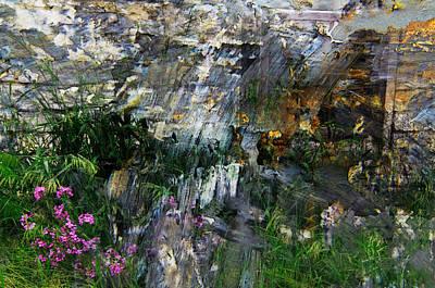 Flox Mosaic Art Print by Jim Vance