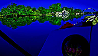 Photograph - Floyd Enters A No Wake Zone by Joseph Coulombe