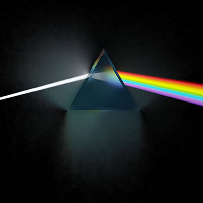 Glass Art Digital Art - Floyd In 3d Simulation by Meir Ezrachi