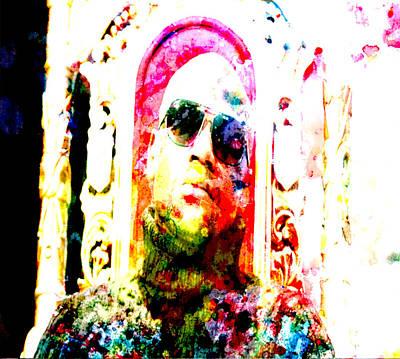 Floyd Mayweather Digital Art - Floyd Mayweather Big Time by Brian Reaves