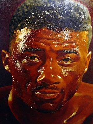 Painting - Floyd Patterson by Michael Swanson