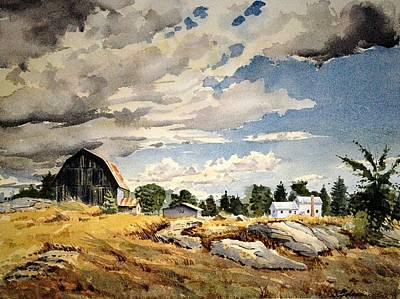 Painting - Floyd's Barn No. 2 by David Gilmore