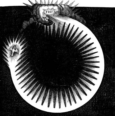 Historia Wall Art - Photograph - Fludd's Creation Theory by Royal Astronomical Society/science Photo Library
