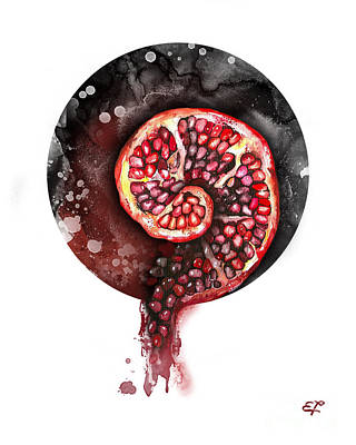 Blood Drawing - Fluidity 11 - Elena Yakubovich by Elena Yakubovich