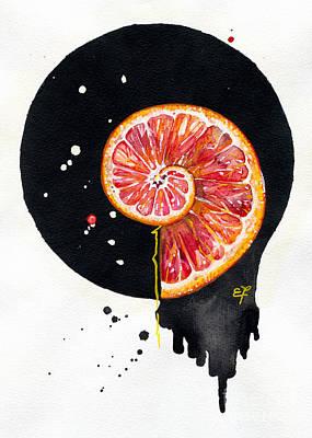Chinese Market Painting - Fluidity 13 - Elena Yakubovich by Elena Yakubovich
