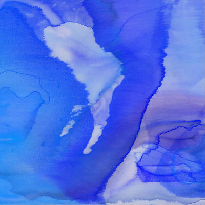 Interior Design Painting - Fluidity 19-c by Brian Allan