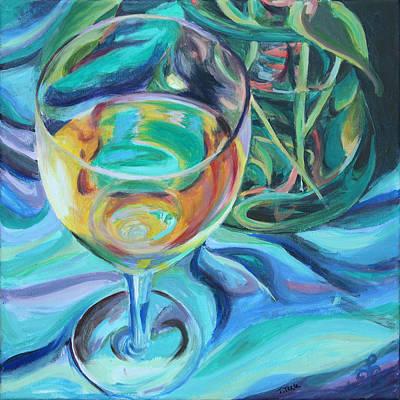 Painting - Fluidity by Trina Teele