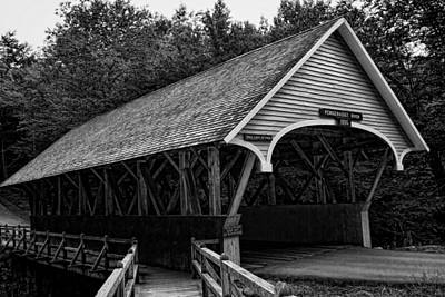Photograph - Flume Bridge by Heather Applegate