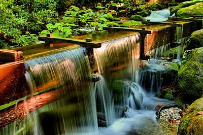 Photograph - Flume Overflow  by Carol Montoya