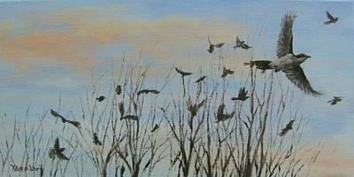 Painting - Flurry by Karen Ilari