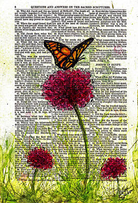 Flutter By Art Print
