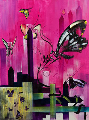 Love Making Painting - Flutter by Gregory Fricker