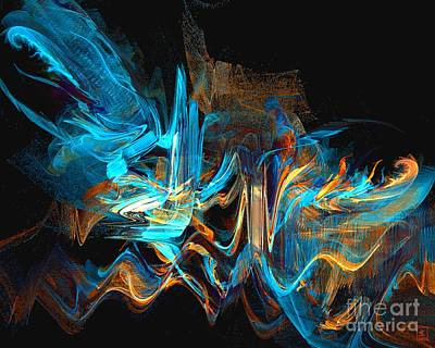 Painting - Fluttering by Jeanne Liander
