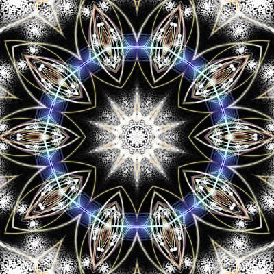 Mixed Media - Flux Magnetism by Derek Gedney