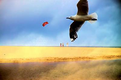 Photograph - Fly A Kite by David Rich