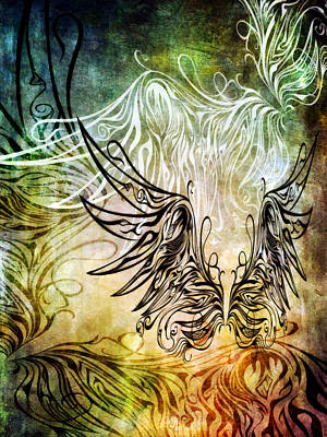 Freedom Mixed Media - Fly Away 1 by Angelina Vick