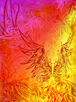 Digital Art - Fly Away 3 by Angelina Vick