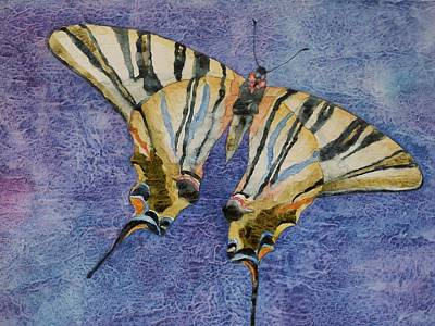 Painting - Fly Away Home by Casey Rasmussen White