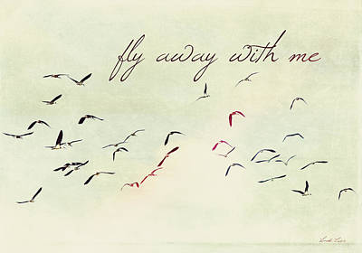 Photograph - Fly Away With Me by Linda Lees