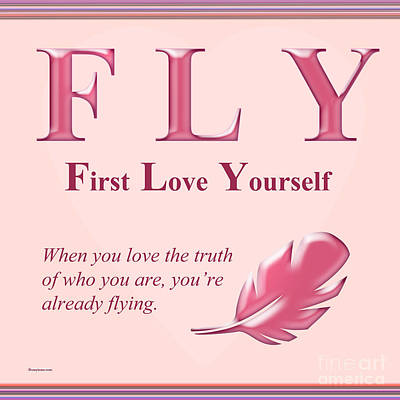 Fly Buseyism By Gary Busey Art Print