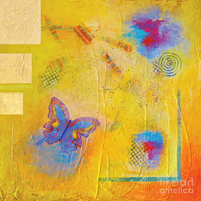 Fly Butterfly Fly Art Print by Pat Stacy