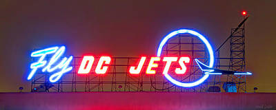 Fly Dc Jets Print by Heidi Smith