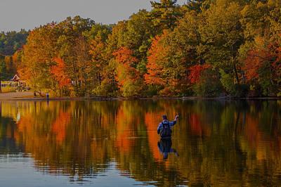 State Love Nancy Ingersoll - Fly Fishing by Brian MacLean