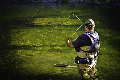 Photograph - Fly Fishing  by Sherri Meyer