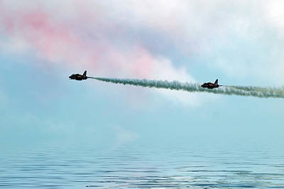 Raf Photograph - Fly Over by Sharon Lisa Clarke