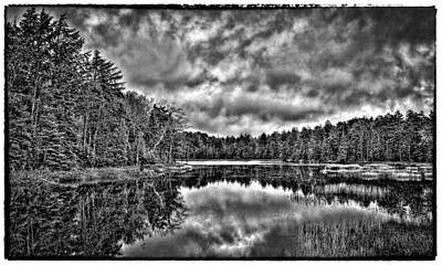 Photograph - Fly Pond On Rondaxe Road IIi by David Patterson