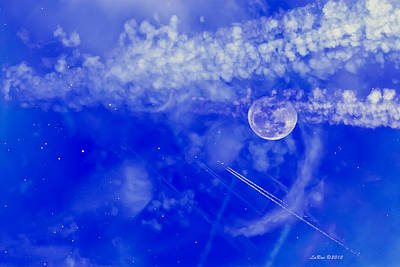 Chemtrails Photograph - Fly To The Moon And Stars by La Rae  Roberts