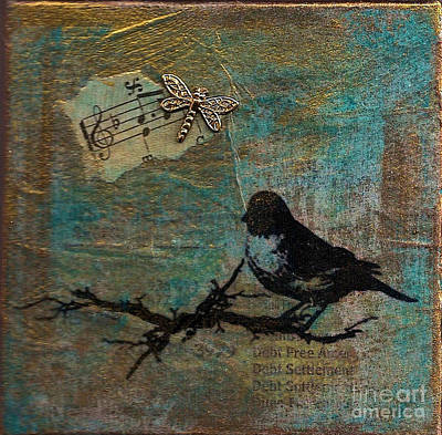 Mixed Media - Fly With Me by Ruby Cross