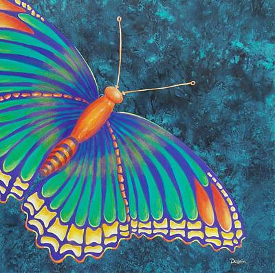 Painting - Fly With Me by Susan DeLain