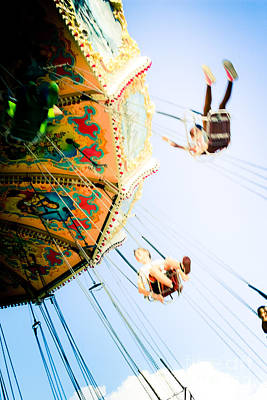 Mood Swings Photograph - Flyin' High by Colleen Kammerer