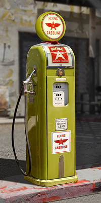Gasoline Wall Art - Photograph - Flying A Gasoline - National Gas Pump by Mike McGlothlen