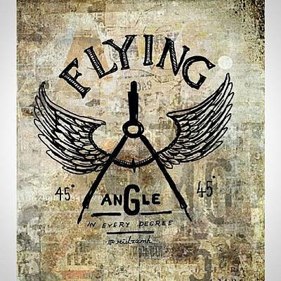 Angle Photograph - Flying Angle.  There's Angle In by Ridza MH