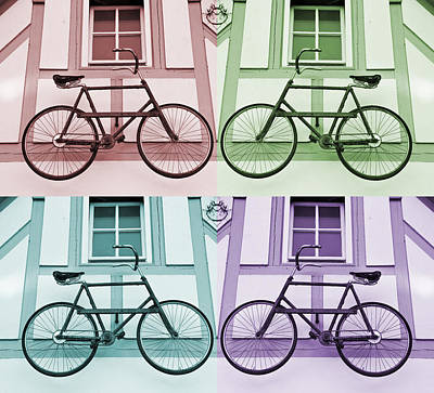 Photograph - Flying Bicycles by Mick House
