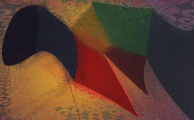 Flying Carpet? Art Print