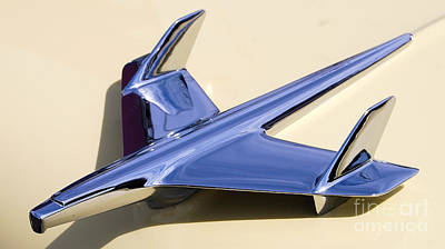 Photograph - Flying Chevy Ornament by Mark Spearman