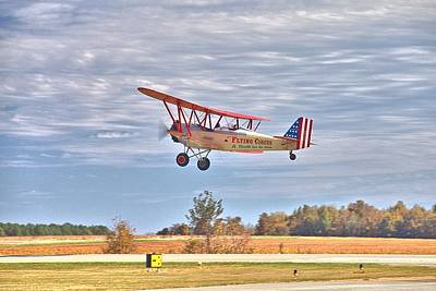 Photograph - Flying Circus Barnstormers by Gordon Elwell