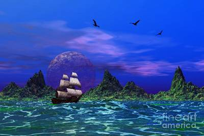 Art Print featuring the photograph Flying Dutchman by Mark Blauhoefer