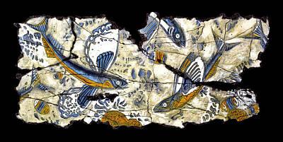 Painting - Flying Fish No. 3 by Steve Bogdanoff