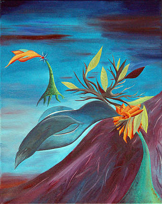 Flying Flowers Will Land In Suitable Soil Original by Eric Trybus
